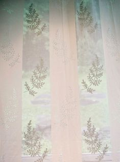 Fern Madras Lace Curtain & Yardage direct from London Lace: London Lace we specializing in the finest Scottish and Madras lace curtains and products like Fern Madras Lace Curtain & Yardage.