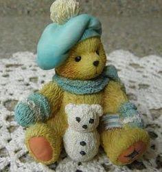 Cherished Teddies figurine Enesco collectible teddy by likesteel