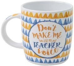 TEACHER MUG TEACHER VOICE | Homewares Online