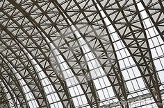 Photo about Steel roof trusses of a building,Chengdu,China. Image of pipe, curving, huge - 32478544 Steel Trusses, Roof Trusses, Steel Structure Buildings, Roof Structure, Space Truss, Roof Truss Design, Materials And Structures, Airport Design, Steel Roofing