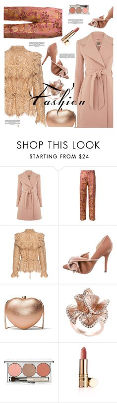"""Untitled #1203"" by pesanjsp on Polyvore featuring Etro, Ganni, N°21, MICHAEL Michael Kors, Effy Jewelry and Chantecaille"
