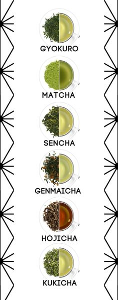 Varieties of Japanese green tea including sencha and matcha. Not only can green tea improve brain function in the short term, it may also protect your brain in old age. Alzheimer's and Parkinson's diseases are common neurodegenerative diseases. Tea Varieties, Tea Culture, Matcha Green Tea, Green Teas, Japanese Tea Ceremony, Oolong Tea, Chinese Tea, Tea Art, My Tea