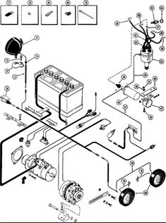 8 Cylinder Wiring with Starter and Generator : Wiring