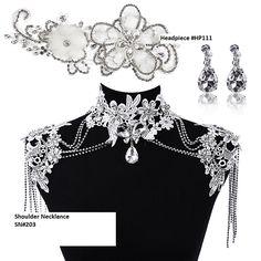 bridal shoulder necklace - Google zoeken