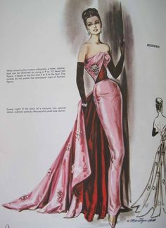 Art of Costume Design by Marylin Sotto, Hollywood, ca. 60