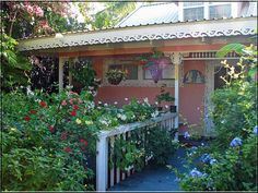 Pink Cottage In Hawaii