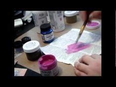 Color Shot Glazes and Make your own Lumiere Paints part two.                                                                                    Journa...