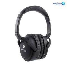 Able Planet True Fidelity Active Noise-Canceling Headphones - Black