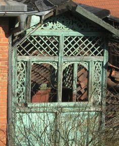 Der Balkon Aus Holz   Konstruktion .