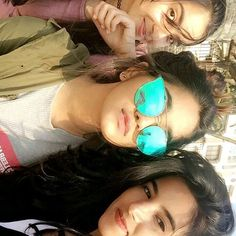 Three beauties together💛😍 Speechless😍😍 Cute Girl Face, Cute Girl Photo, Stylish Girls Photos, Girl Photos, Square Hijab Tutorial, Megha Akash, Cute Couple Tattoos, Creative Instagram Stories, Girls Formal Dresses