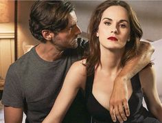 "Michelle Dockery and Juan Diego Botto costarring in TNT's ""Good Behavior"""