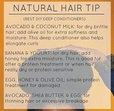 Natural hair tip @GottaLoveDesss