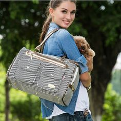 Cheap cat carry bag, Buy Quality dog carrier tote directly from China dog carrier Suppliers: Windproof Pet Carrier Dog carriers tote Breathable Dog handbag Pet dog cat carrying bag travel Canvas dog cage Portable bags Small Pet Carrier, Pet Travel Carrier, Dog Travel, Dog Carrier, Travel Bag, Cute Dog Clothes, Cat Cages, Pet Bag, Pet Carriers