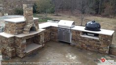 Thinking Of This Kind Outdoor Kitchen For The New House