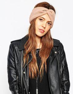 ASOS - Bandeau style turban côtelé