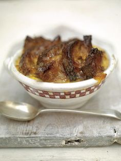 good old bread & butter pudding with a marmalade glaze & cinnamon & orange butter | Jamie Oliver | Food | Jamie Oliver (UK)