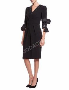 Siyah Elbise Abiye Kokteyl Tasarım Elbise 36 beden