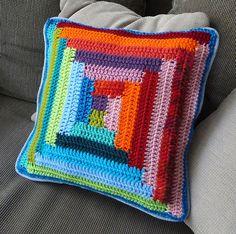 labyrinth pillow by Kika Tikka, via Flickr