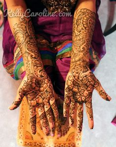 Indian Wedding Henna tattoo Designs | Kelly Caroline henna artist