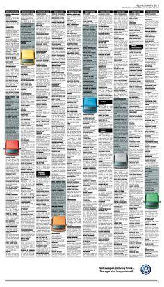 Y si estás buscando adquirir camiones repartidores.... ¿qué te parece esta propuesta de la agencia #DDBO? #publicidad #volkswagen