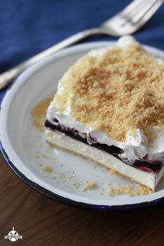 This Blueberry Yum Yum is the perfect Thanksgiving dessert!