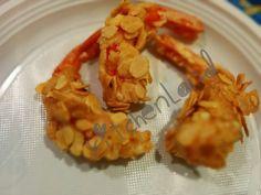 Gamberoni in crosta di mandorle2
