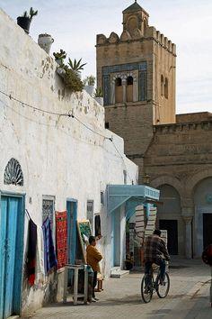 Kairouan, Tunisia  I wonder if this is where Tunisian crochet originated from???    <3