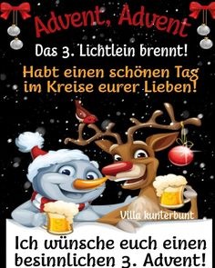Xmas Greetings, Gifts, Events, Winter, German Language, Merry Christmas Pictures, Advent Season, Christmas Time, Christmas Holidays