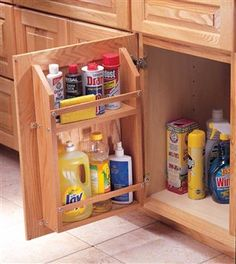AW Extra 11/28/13 - Sink Cabinet Shelf - Woodworking Projects - American Woodworker