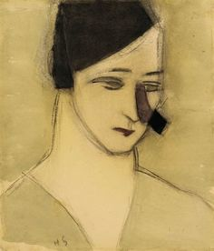 Helene Schjerfbeck, Mother from The Alarm