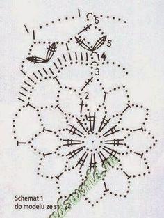 Może się jeszcze Wam przyda parę wzorków na bombki szydełkowe:) Powodzenia:)                                                            ... Crochet Lamp, Crochet Wool, Crochet Stars, Crochet Snowflakes, Thread Crochet, Crochet Motif, Crochet Patterns, Christmas Globes, Christmas Bells