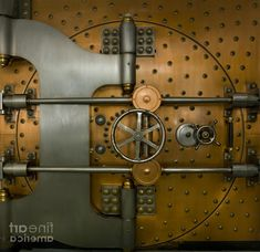 Old Bank Vault Door