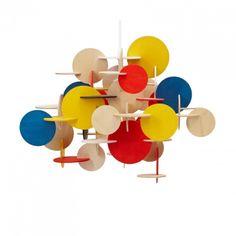 Bau Pendant suspension lamp designed by Vibeke Fonnesberg Schmidt for manufacturer Normann Copenhagen (2010)