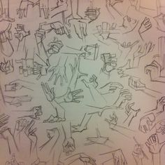 #hands #pen #draw #sketch