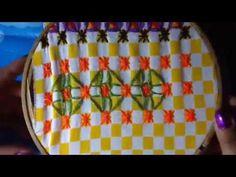 - 15 Bordado español con cony - YouTube