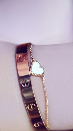 ♥ ... Cartier LOVE + VC Alhambra Sweet