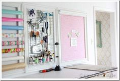 For craft room. Ideas