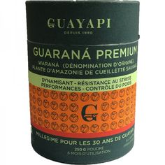 Guaranà Premium en Poudre GUAYAPI Bio, Whiskey Bottle, Food Energy, Cold Drinks, The Brain, Face Powder