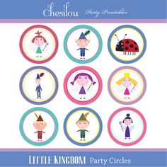 Customized Ben & Holly's Little Kingdom Digital por Chesilou