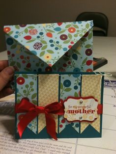 Cute, easy card and envelope