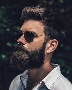 Rayban and beard. @slackerblack