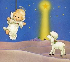 The Christmas Story: The Birth of Jesus Wallpapers - The Angel and sheeps - The Nativity scene Art Wallpaper 14 Christmas Nativity Scene, A Christmas Story, Christmas Angels, Vintage Christmas, Christmas Scripture, Nativity Sets, Xmas, Jesus Wallpaper, Wallpaper Wallpapers