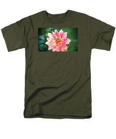 Bee In The Center T-Shirt by Cynthia Guinn
