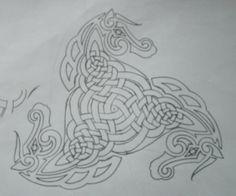 tattoo idea ? #Celtic #horse #knots