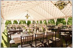 Jacqueline Chapelle's gorgeous French tents! Photography: Julie Wilhite