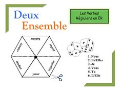 French Verb Form Practice Activity (Pairs or Groups): ER Verbs