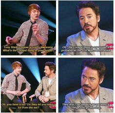 This made me laugh so hard and I haven't even seen Iron Man