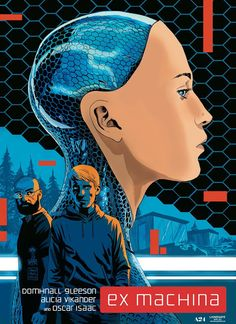 'Ex Machina' by Francesco Francavilla