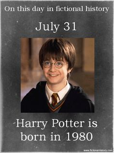 fictional-history: (Source) Name: Harry Potter Birthdate: July 1980 Sun Sign: Leo Animal Sign: Metal Monkey Harry Potter Characters Birthdays, Birthday Harry Potter, Harry Potter Facts, Harry Potter Quotes, Harry Potter Books, Harry Potter Love, Harry Potter Universal, Harry Potter Fandom, Harry Potter World