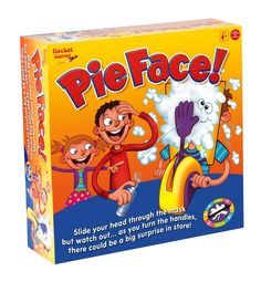 Amazon.com: Rocket Games Pie Face!: Toys & Games